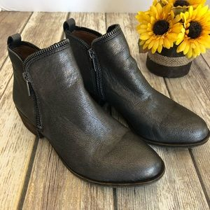 Lucky Brand. Basel Bootie Pewter Rock. Size 6.5